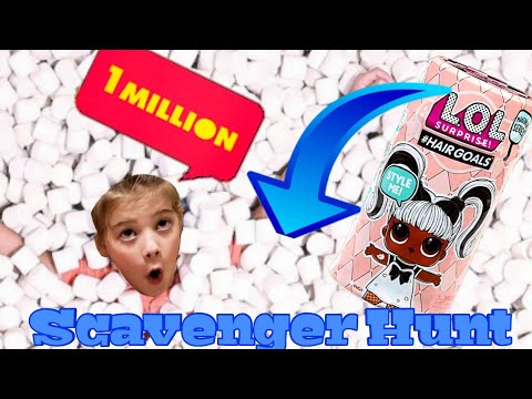 L.O.L, Surprise Makeover Series Hairgoals Scavenger Hunt | 1,000,000 Marshmallows | Candytopia