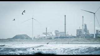 Extreme Kiteboarding in Ireland & Holland - Ruben Lenten 2013