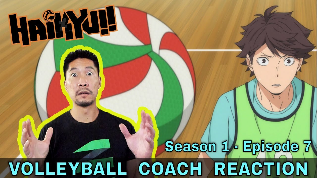 VOLLEYBALL COACH REACTS TO HAIKYUU!! S1 E7 - Versus The Great King
