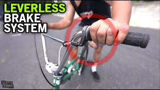 World's First BMX Brąke System WITHOUT Levers!