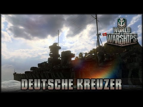 World of Warships - Deutsche Kreuzer!  [ deutsch | gameplay ]