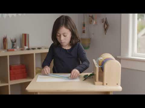 Fully Kids: How to make tape art