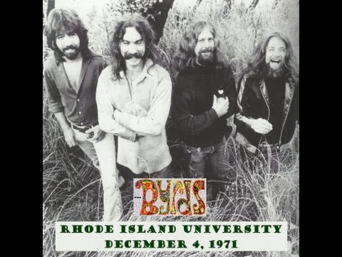 The Byrds -  Live From Rhode Island University (12-04-1971)