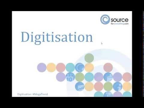 Mega trend in consulting: Digitisation