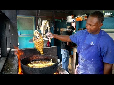 Street Food in Jamaica - Seafood in Kingston