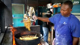 Street Food in Jamaica: Seafood in Kingston