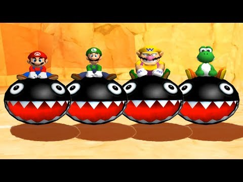 Mario Party 6 - All Racing Minigames
