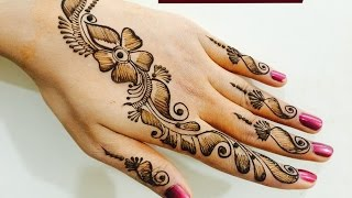 Easy Quick Trendy Bel Mehndi Designs For Hands|Beautiful Shaded Mehendi By MendiArtistica