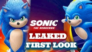 FULL Look At SONIC Leaked (Sonic The Hedgehog Movie)