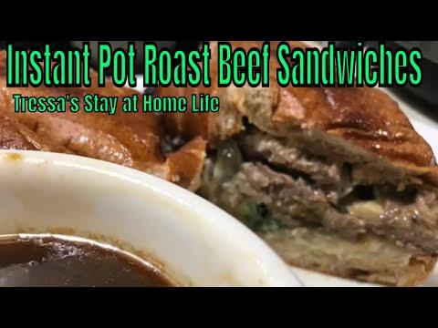 Instant Pot Roast Beef Sandwiches