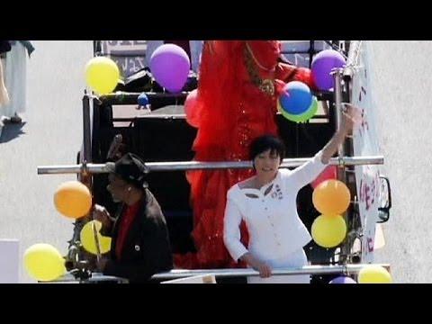 Japan: Tokyo pride parade - no comment