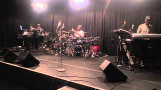 a old clip of keyshia cole band rehearsal playing heaven sent