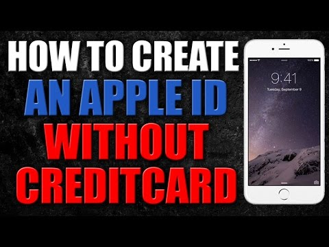 How to create apple id without credit card on iphone 6