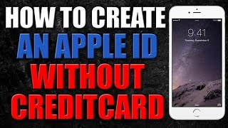 How to create an Apple Id without Credit Card 2017 - 100% Working
