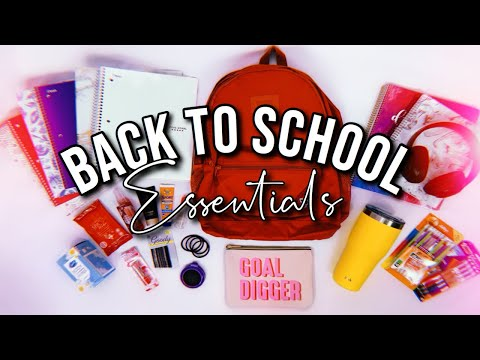 Back To School Essentials 2019!! (MUST HAVES)