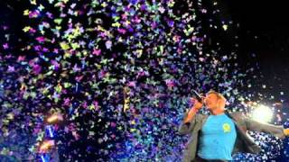 Coldplay - Mylo Xyloto + Hurts like Heaven (with perfect transition and lyrics)