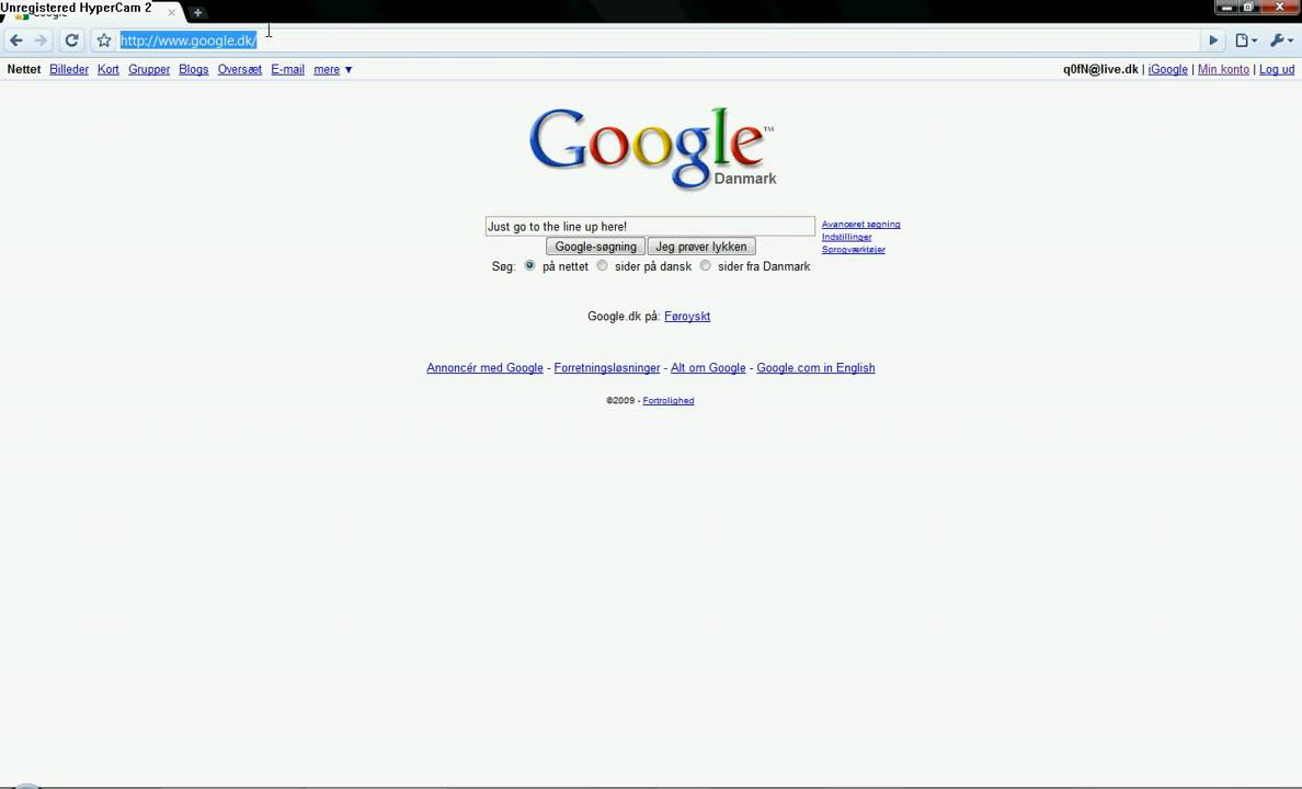 How To Come Into Www Google Dk Youtube