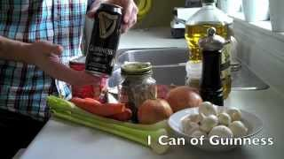Cooking With Beer - Beef And Guinness Stew