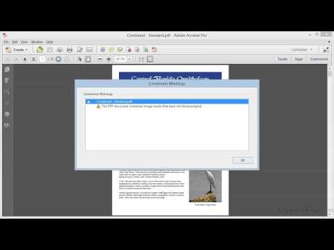 Adobe Acrobat XI Tutorial | PDF Optimization