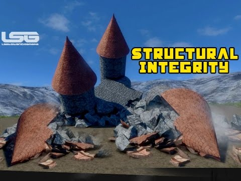 Medieval Engineers - Structural Integrity, Crack,Fracture Collapse