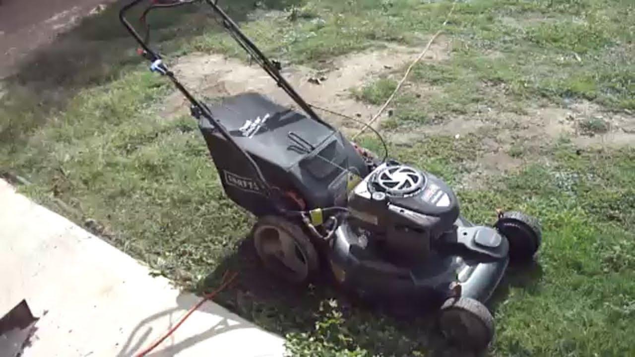 Craftsman EZ Walk FWD Electric Start Walk Behind mower