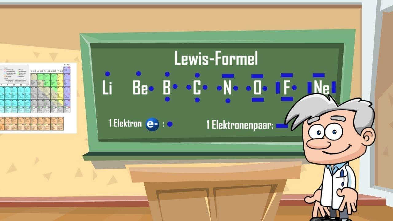 Oktettregel Und Lewis Formel Einfach Erklärt