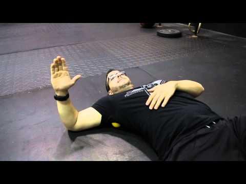 Albany, NY CrossFit Movement Demo: Shoulder Rotator Smash and Floss