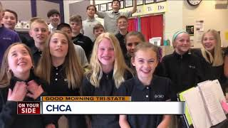 CHCA students sing for Good Morning Tri-State thumbnail