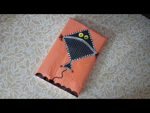 Diy Notebook cover design/Book cover decoration/Notebook decoration ideas for school.