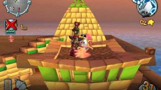 Worms Forts Under Siege - In-Game Egyptian 2 (Bjorn Lynne official)