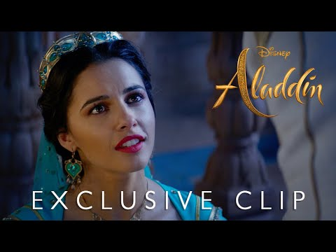 "Disney's Aladdin - ""A Whole New World"" Film Clip"