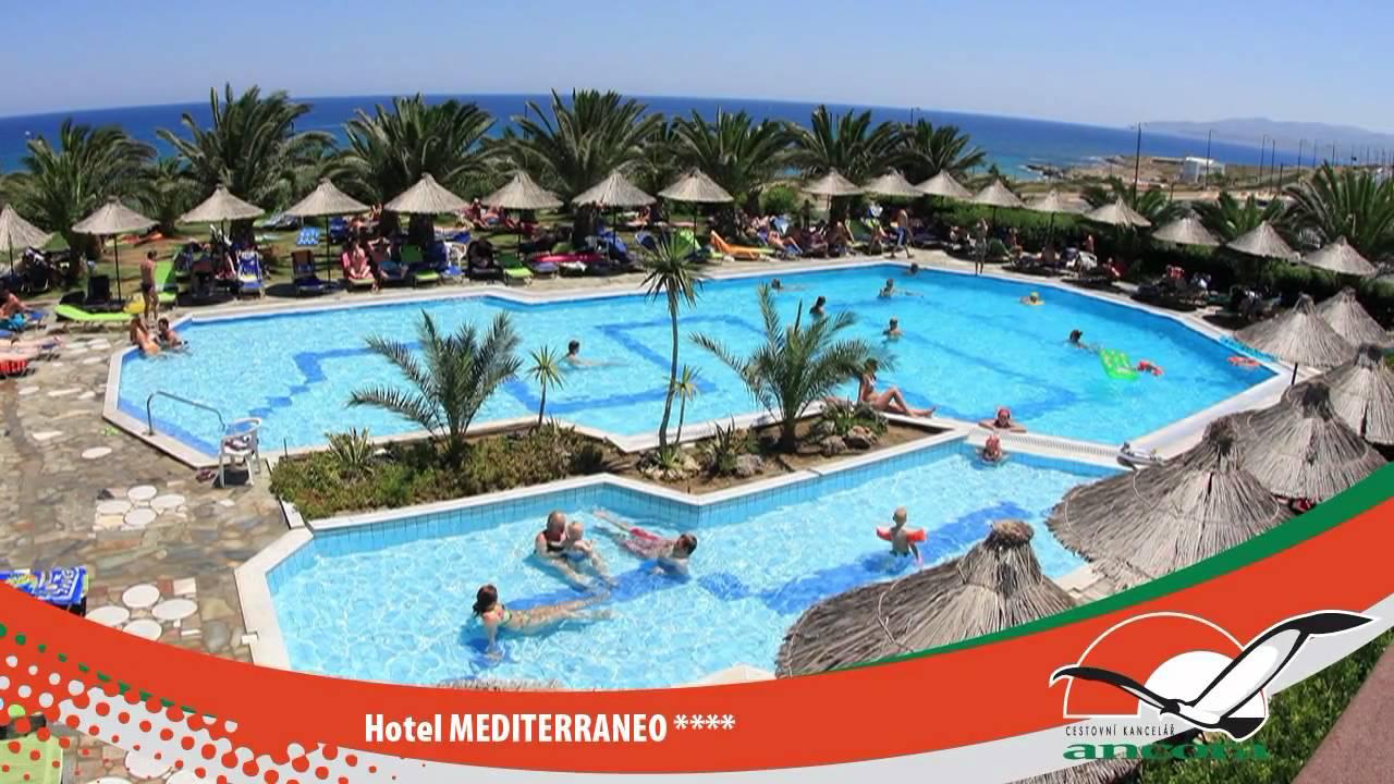 Hotel MEDITERRANEO - HERSONISSOS - CRETE - GREECE - YouTube
