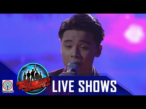 "Pinoy Boyband Superstar Live Shows: Russell Reyes - ""Bakit Pa Ba"""