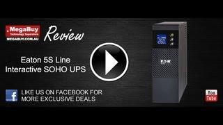 Eaton 5S Line Interactive UPS Review 550VA - 1500VA