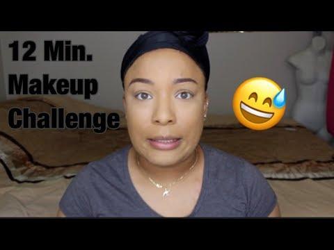 12 MINUTE MAKEUP CHALLENGE!! thumbnail
