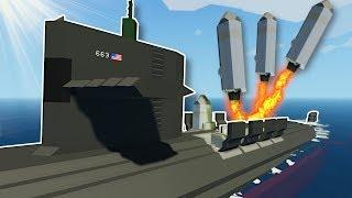 NUCLEAR SUBMARINE MISSILE FAILURE! - Stormworks Multiplayer Gameplay - Submarine Survival