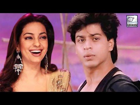 OMG!! Juhi Chawla Made FUN Of Shahrukh Khan | Raju Ban Gaya Gentleman Movie