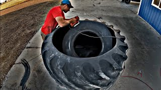 Concrete Demolition & Sawing Tires