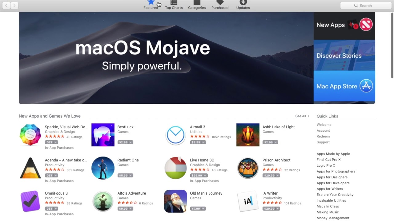mac os x apps free download