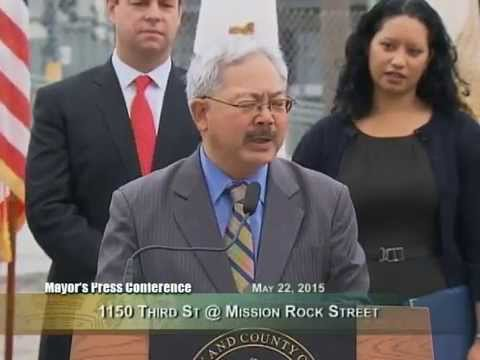 Mayor Lee Announces New Mission Bay Project to House Formerly Homeless Veterans