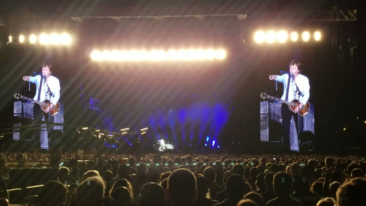 Paul McCartney Live Hershey Park