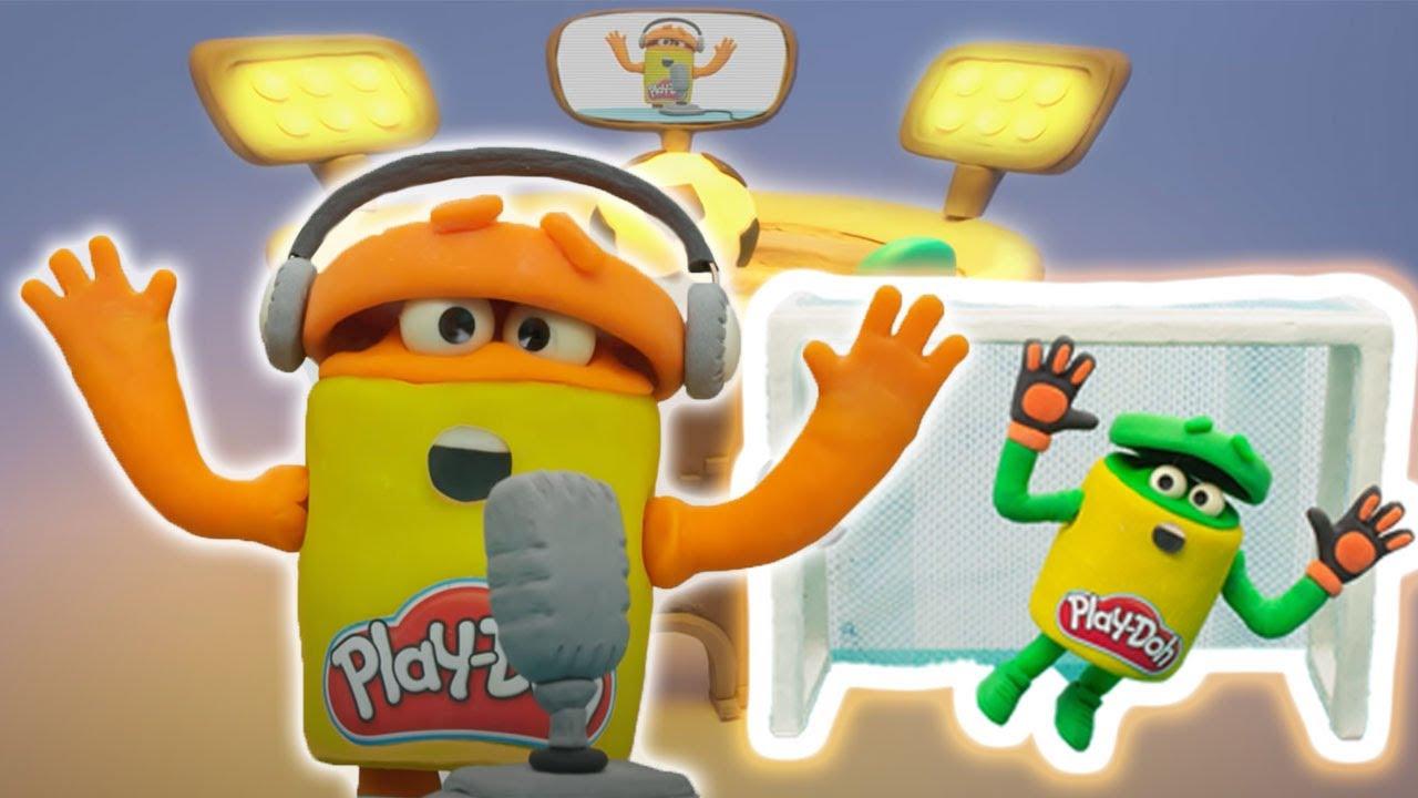 Play Doh Videos ⚽️ SWEET SPORTS! ⚽️  Sports Olympics 2021 | Play-Doh Show Season 2