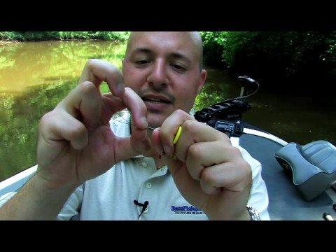 Best Way To Peg Bass Fishing Sinkers