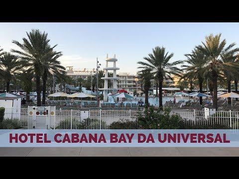 Tour pelo Universal's Cabana Bay Beach Resort