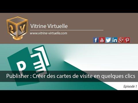 Publisher : Créer vos cartes de visite en quelques clics ...