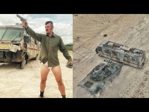 40 Ton Leopard Tank vs My New RV