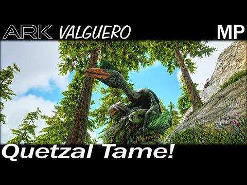 Quetzal Tame! | ARK Survival Evolved Valguero Map | EP 10