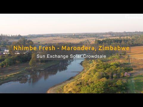Sun Exchange Solar Crowdsale - Nhimbe Fresh - Marondera, Zimbabwe