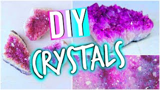 One of Hayley Williams's most viewed videos: DIY Room Decorations: Tumblr Inspired Crystals!