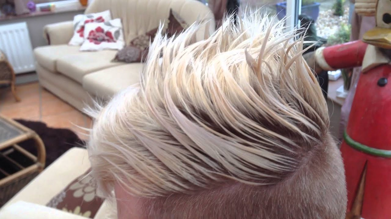 Ladies Shaved Restyle Haircut With Clippers YouTube